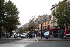 бульвар храма Париж