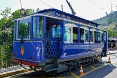 тибидабо синий трамвай