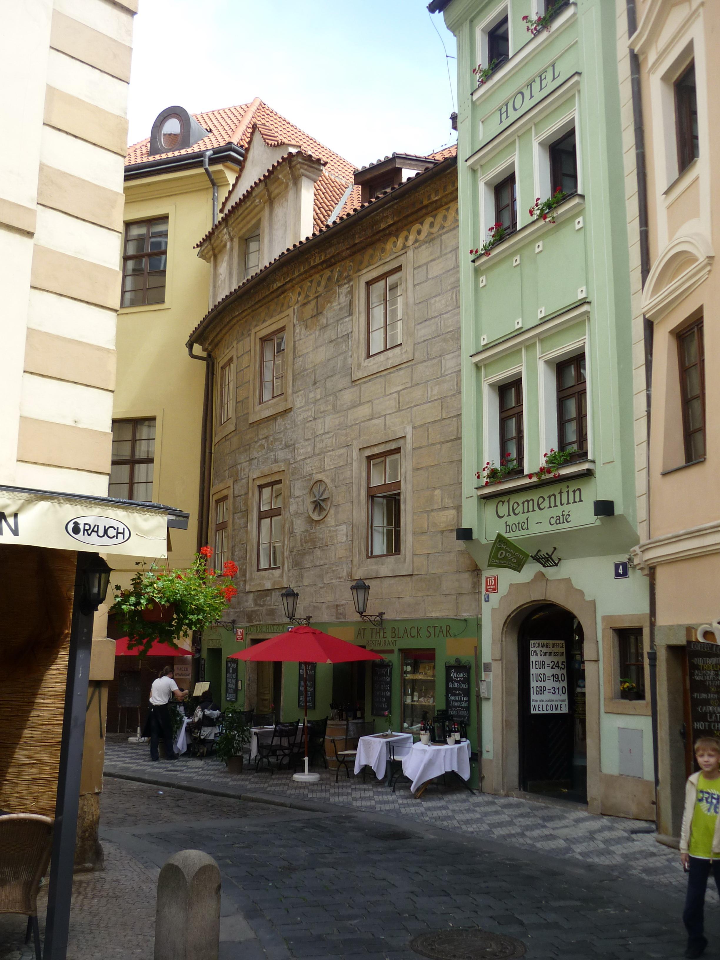 Отель в центре Праги.