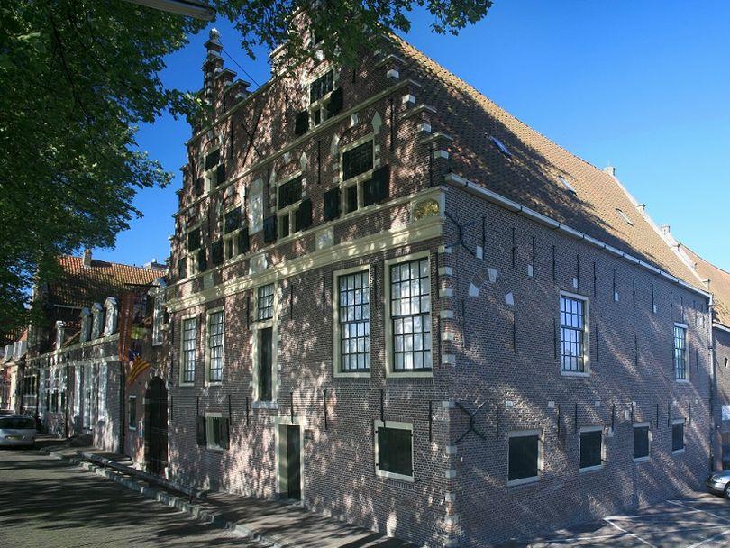 Необычная экспозиция в музее Зейдерзее.