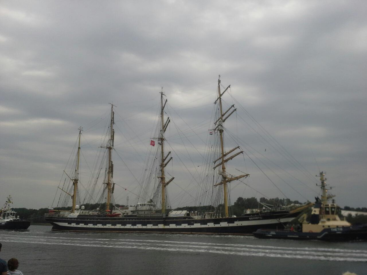 Парад кораблей.