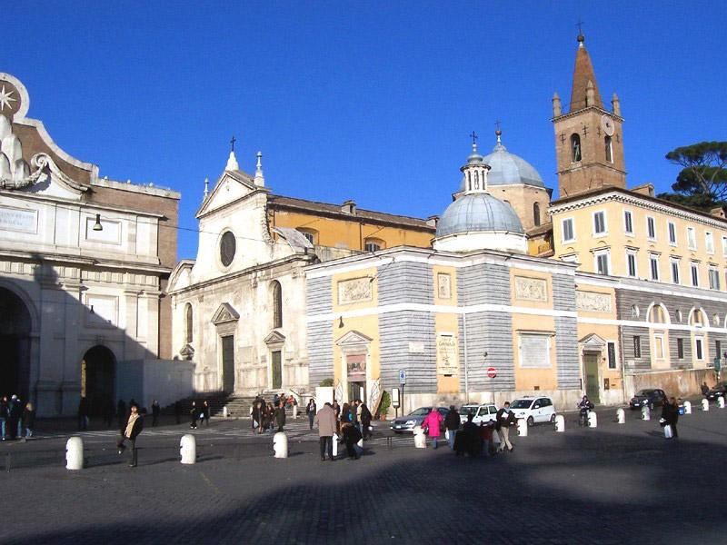 Санта–Мария-дель-Пополо.