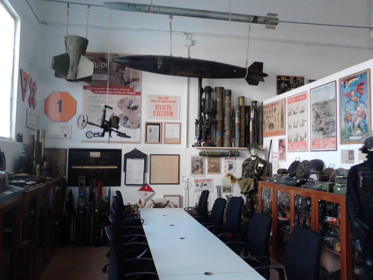 Музей взрывчатых веществ.
