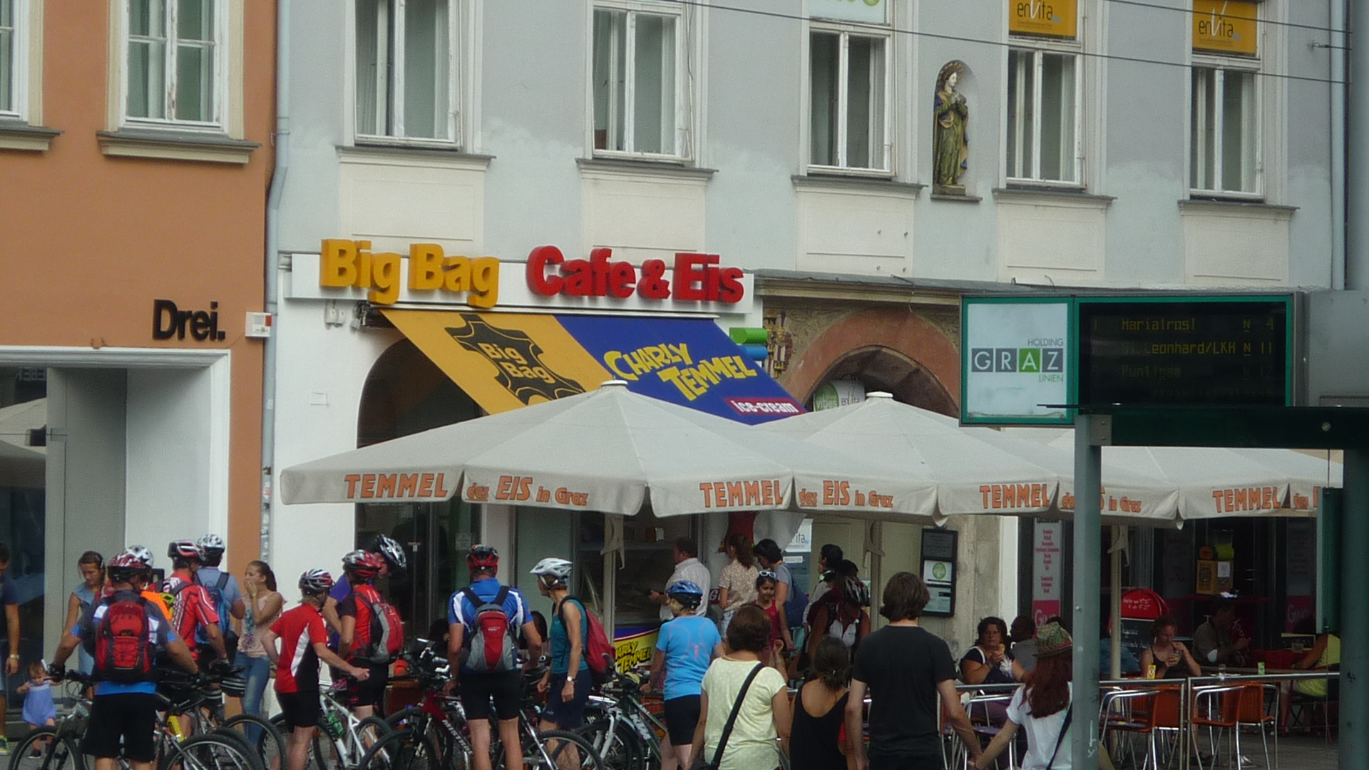 Мороженое в Европе.