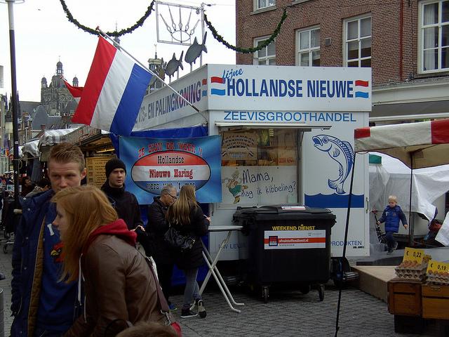 Голландская сельдь.