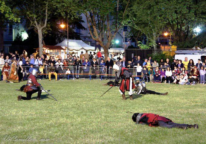 Средневековый фестиваль.