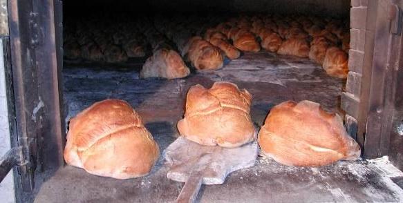 Итальянский хлеб из Матеры.