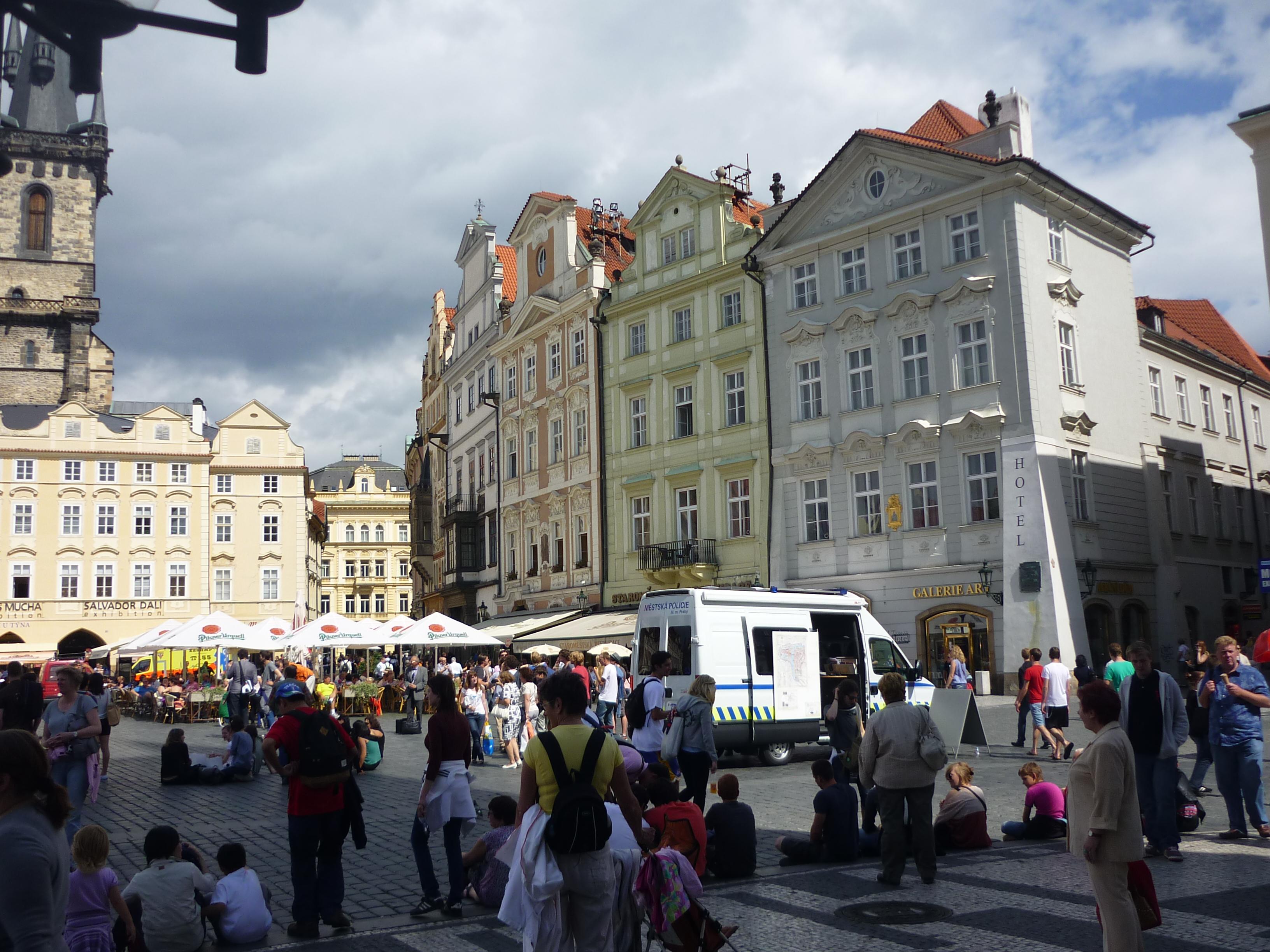 Часы в Праге.