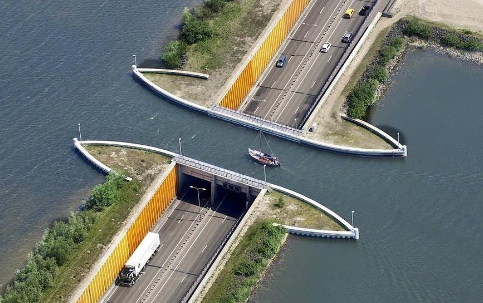 Водный мост.