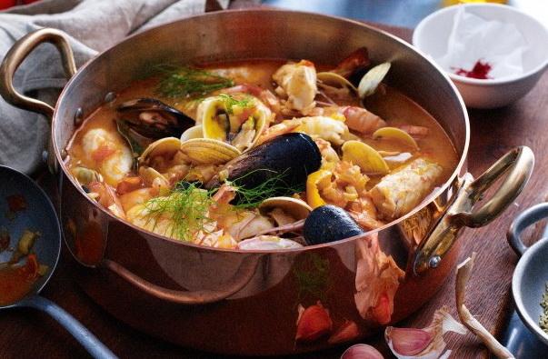 Средиземноморская кухня. Буйабес.