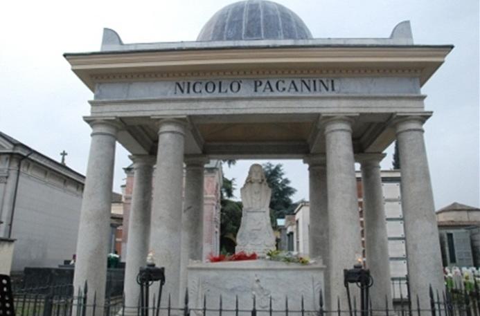 Парма. Никколо Паганини.