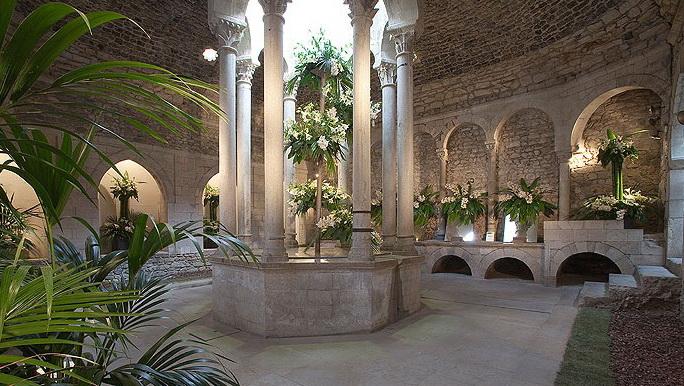 Арабские бани. Жирона.