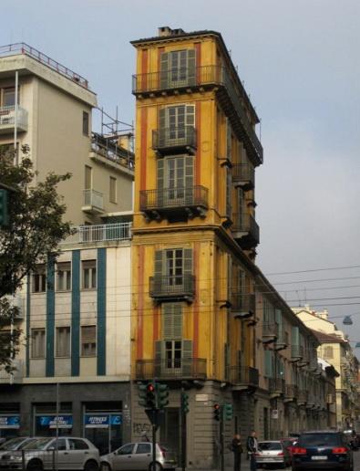 Дом в Турине.