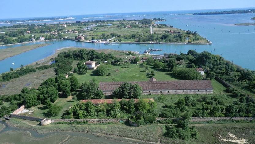 Остров Lazzaretto Nuovo. Венеция.