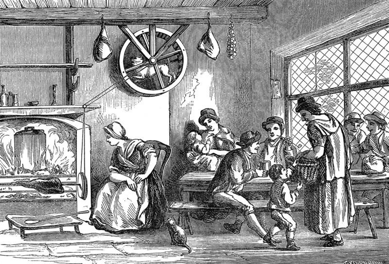 Кухонный гаджет средних веков.