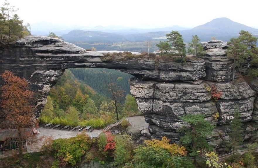 Природный мост.