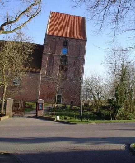 Падающая башня Suurhusen.