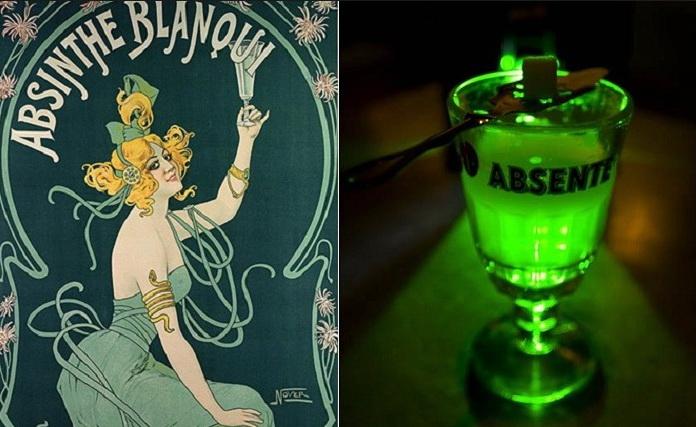 Зеленый убийца-абсент.
