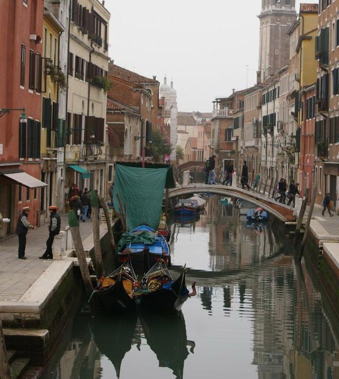 Кулачные бои. Венеция.