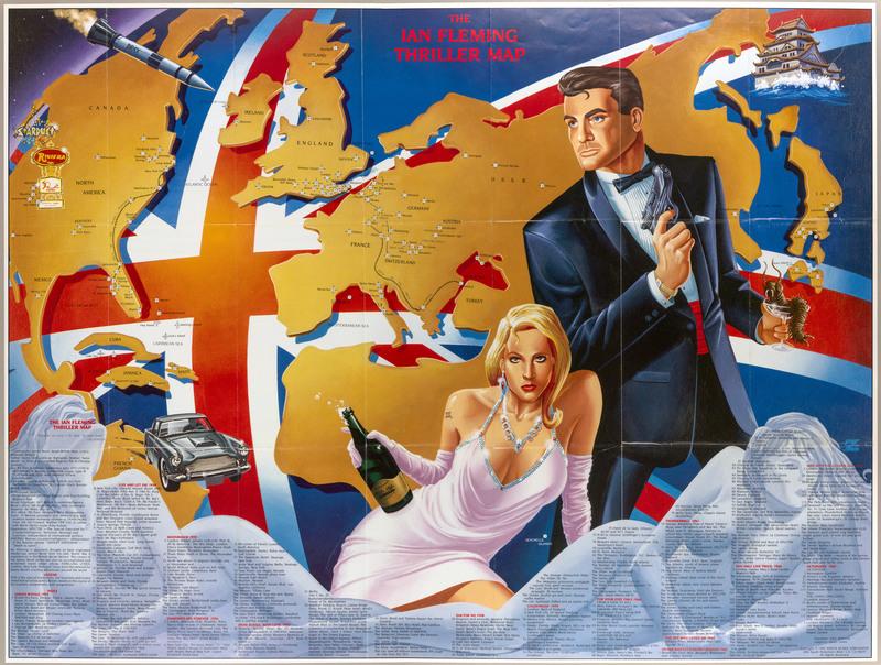 Карта Джеймса Бонда.