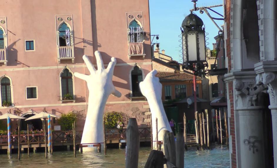 Руки гранд канала Венеции.