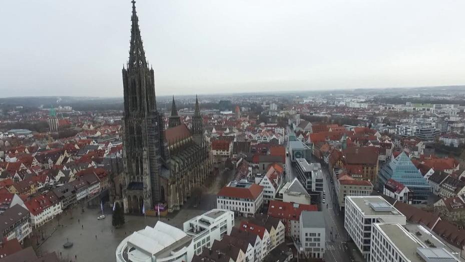 Самая высокая башня собора в мире.