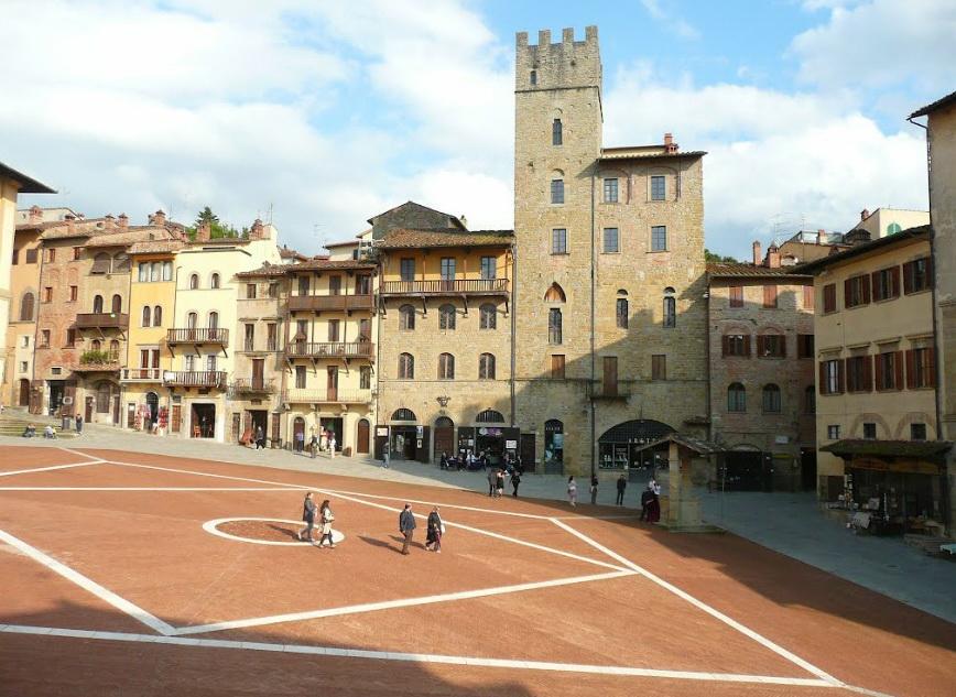 Ареццо. Италия.