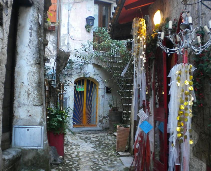 Кальката. Италия. (Calcata)