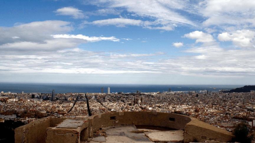 Бункеры Кармель. Обзорная площадка Барселоны.