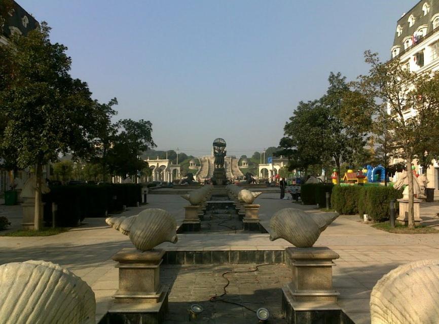 Китайский Париж. (Tianducheng Resort)