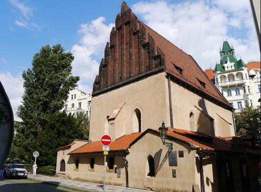 Старая, новая синагога Праги.