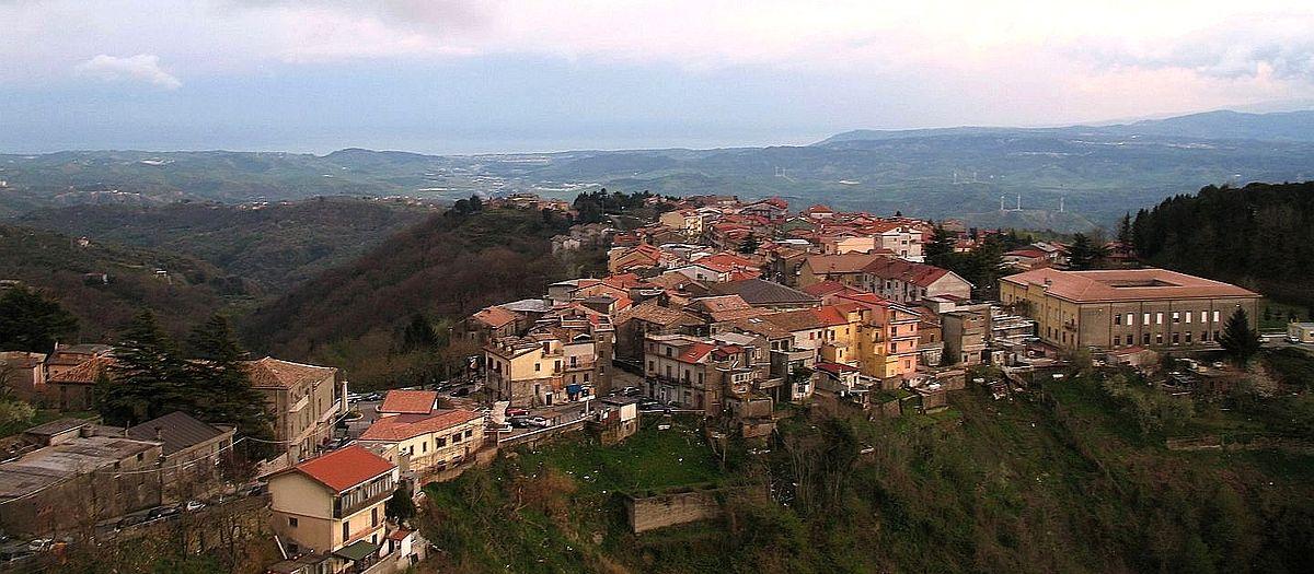 Borgo di Miglierina. Италия.