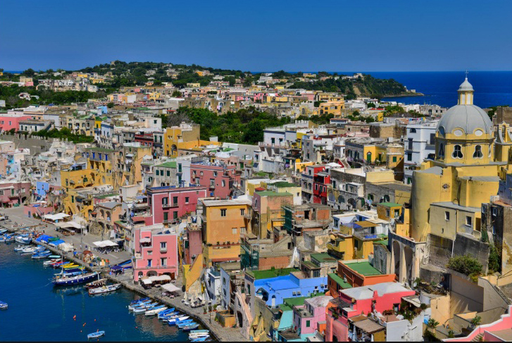 Остров Прочида. Италия.