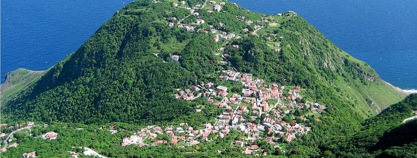 Остров Саба.
