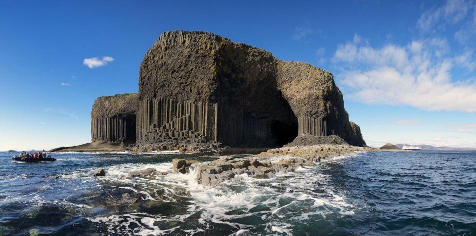 Пещера Фингала. Шотландия.