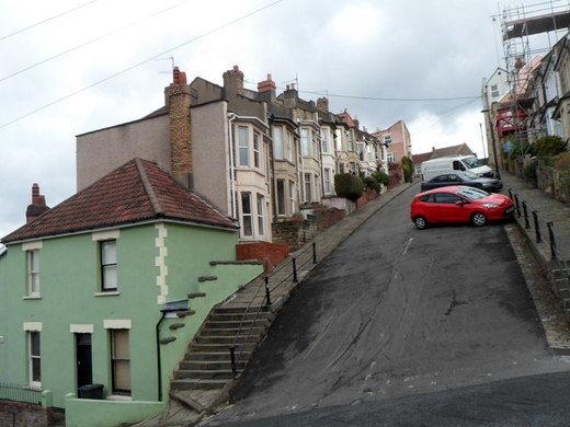 Самая крутая улица Англии.