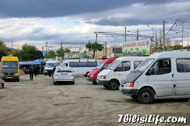 Грузинские заметки. №1 Автовокзал Самгори.