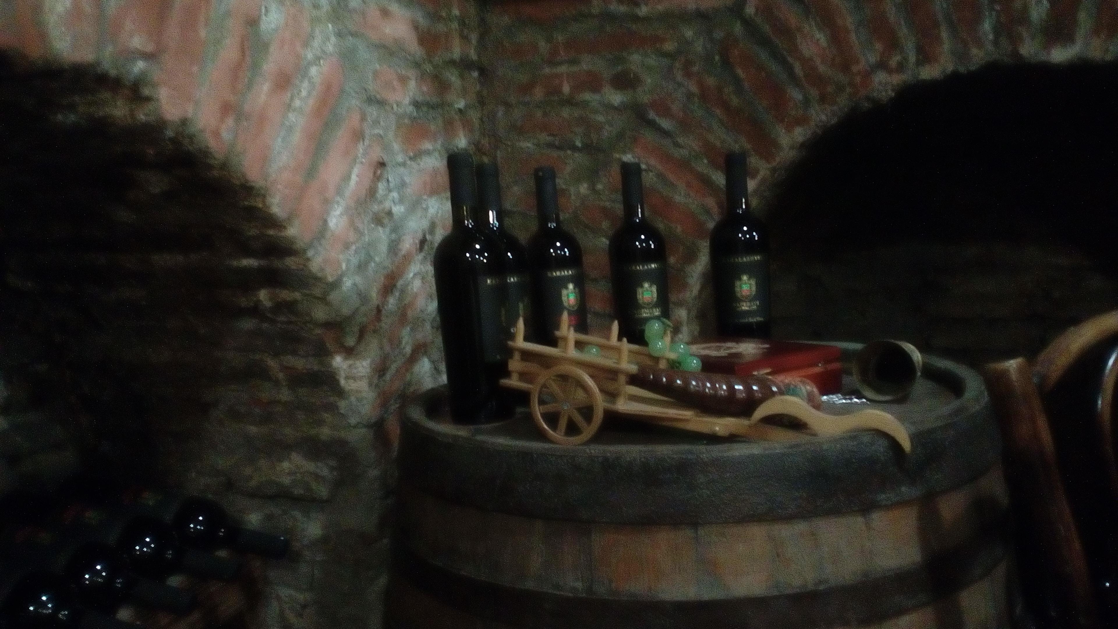 Тбилиси. Дегустация вин.