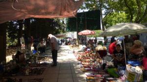 Рынок на Сухом мосту Тбилиси.
