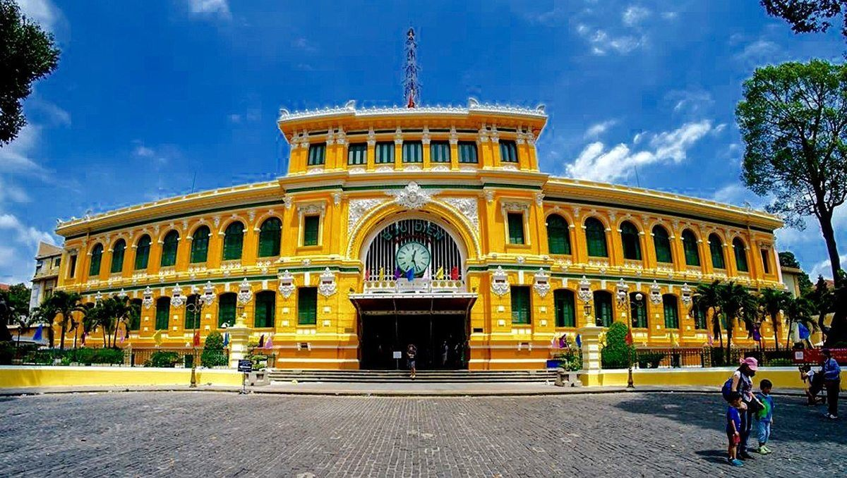 Главное почтовое отделение Сайгона.