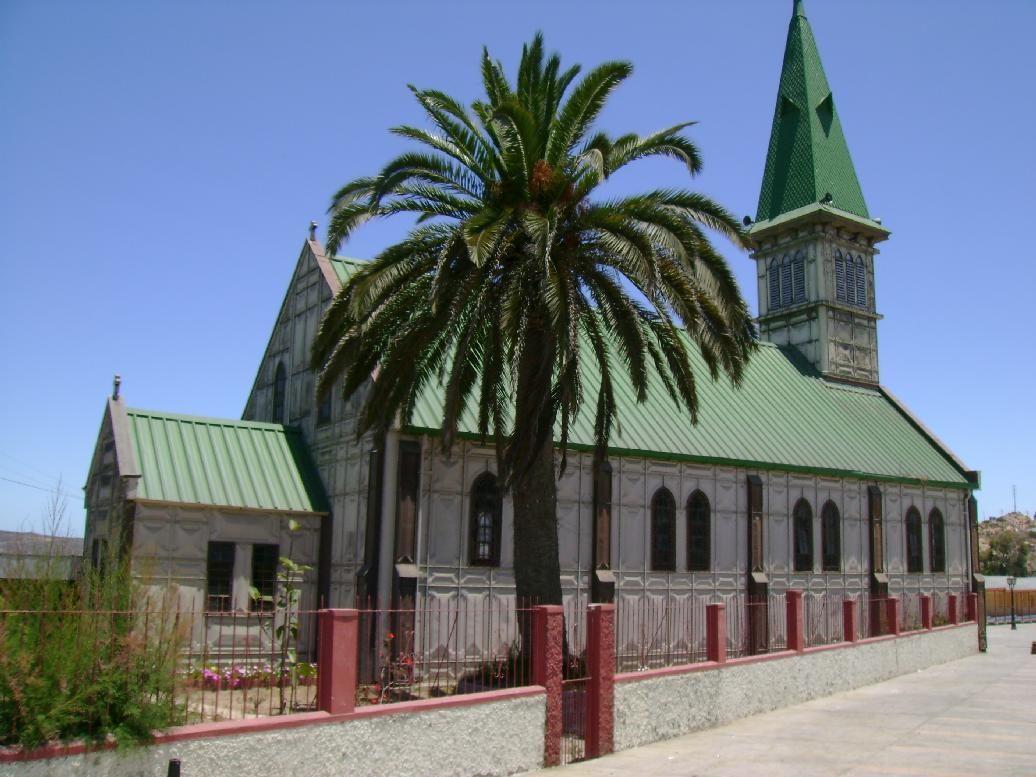 Металлическая церковь. Чили.