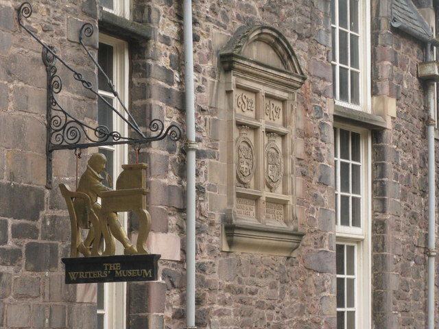 Музей трех писателей. Эдинбург.