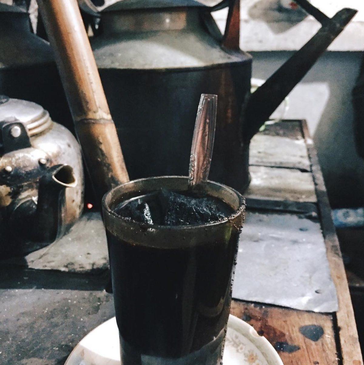 Огненный кофе.