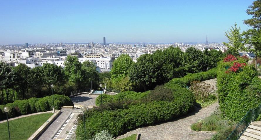 И это тоже Париж. Бельвиль и Минелмонтан.