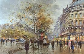Бульвар Осман. Париж.
