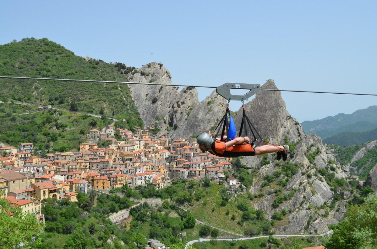 Полет ангела. Италия.