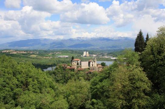 Пролетая над Тосканой. ч.3. Призрак на холме.