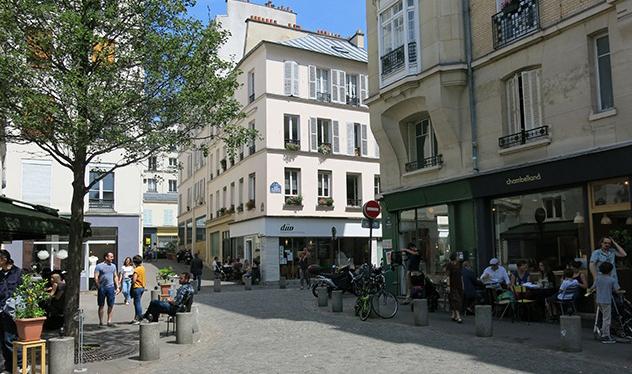 Деревня Попинкурт. Тоже Париж.