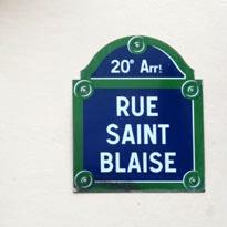 Необычные улицы Парижа. Rue Saint-Blaise.