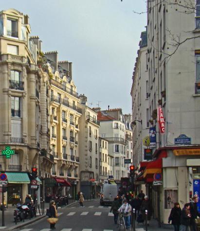 Улица Оберкампф. Париж.